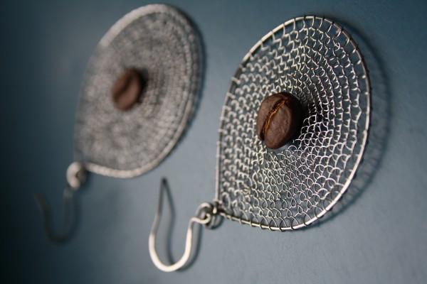 Ohrring : Kaffeetraumfänger